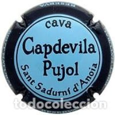 Coleccionismo de cava: PLACA DE CAVA - CAPDEVILA PUJOL 122710. Lote 107796203