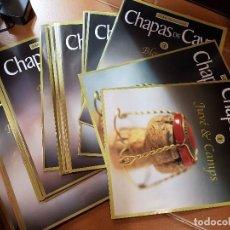 Coleccionismo de cava: CHAPAS DE CAVA. RBA COLECCIONABLES . 30 FASCÍCULOS (1 AL 23 Y 29 AL 35) COMPLETAMENTE NUEVOS.. Lote 108918683