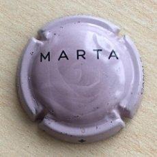 Coleccionismo de cava: CHAPA CAVA MARTA (ROSA). Lote 110096079