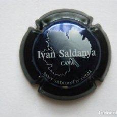Coleccionismo de cava: PLACA DE CAVA IVAN SALDANYA Nº 1614. Lote 110563255
