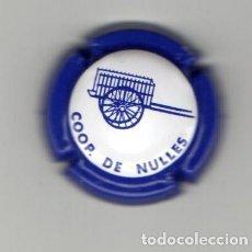 Coleccionismo de cava: PLACA DE CAVA COOP DE NULLES. Lote 115502287