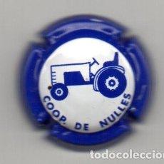 Coleccionismo de cava: PLACA CAVA COOPERATIVA DE NULLES TRACTOR. Lote 115502819