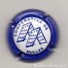 Coleccionismo de cava: PLACA DE CAVA COOPERATIVA DE NULLES REPOSADOR DE BOTELLAS. Lote 115506839