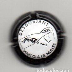 Coleccionismo de cava: PLACA DE CAVA VINICOLA DE NULLES DESGORJANT. Lote 115510115