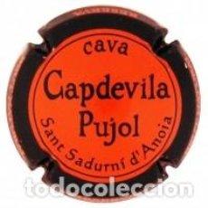 Coleccionismo de cava: PLACA DE CAVA - CAPDEVILA PUJOL 137260. Lote 118682079