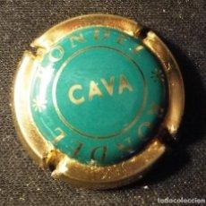 Coleccionismo de cava: CHAPA DE CAVA RONDEL. Lote 124218499