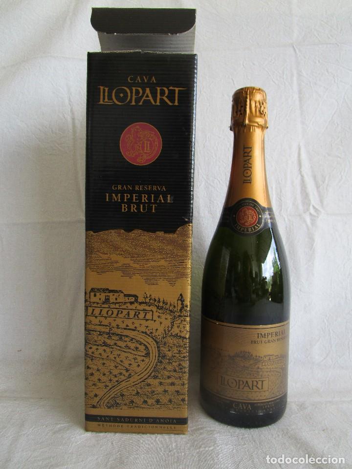 BOTELLA CAVA LLOPART GRAN RESERVA VINTAGE 2004 (Coleccionismo - Botellas y Bebidas - Cava)