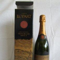 Coleccionismo de cava: BOTELLA CAVA LLOPART GRAN RESERVA VINTAGE 2004. Lote 129387039