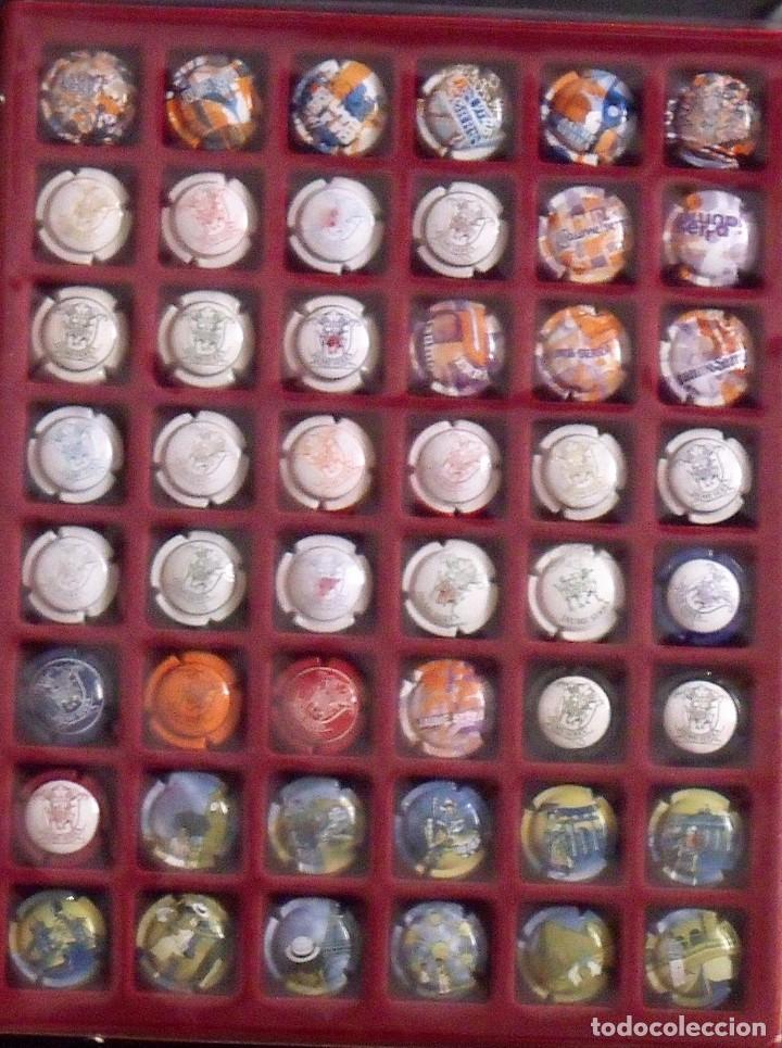 Coleccionismo de cava: ÁLBUM LOTE O COLECCIÓN DE 238 PLACAS DIFERENTES DE CAVA. LAS MARCAS EMPIEZAN POR LA G, H, I, J Y L, - Foto 5 - 131618394