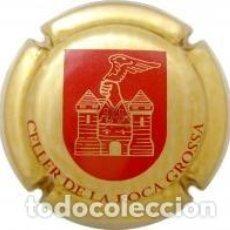 Coleccionismo de cava: PLACA DE CAVA - CELLER ROCA GROSSA - Nº VIADER 12642. Lote 133994418