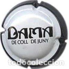 Coleccionismo de cava: PLACA DE CAVA - DAMA DE COLL DE JUNY - Nº VIADER 431. Lote 134256602