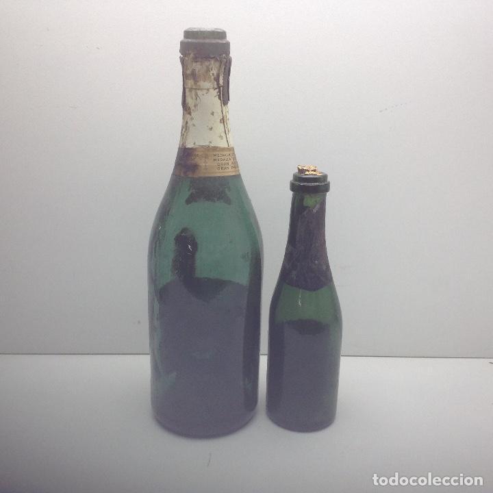 Coleccionismo de cava: LOTE ANTIGUAS BOTELLAS DE CAVA - BOTELLAS VACIA - CODORNIU , DE LAS PRIMERAS - Foto 5 - 135183110