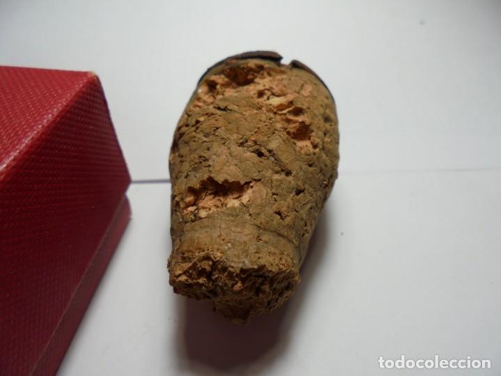 Coleccionismo de cava: magnifica antigua placa de cava de la serra - Foto 2 - 136247666