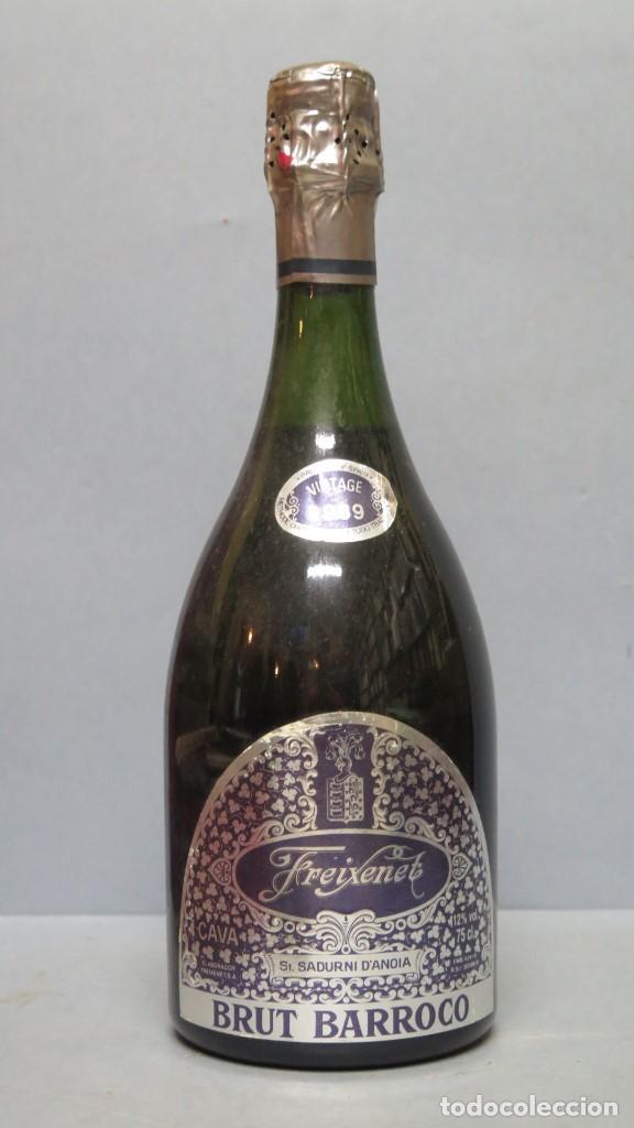 BOTELLA CAVA. FREIXENET. BRUT BARROCO. VINTAGE 1989. SIN ABRIR (Coleccionismo - Botellas y Bebidas - Cava)