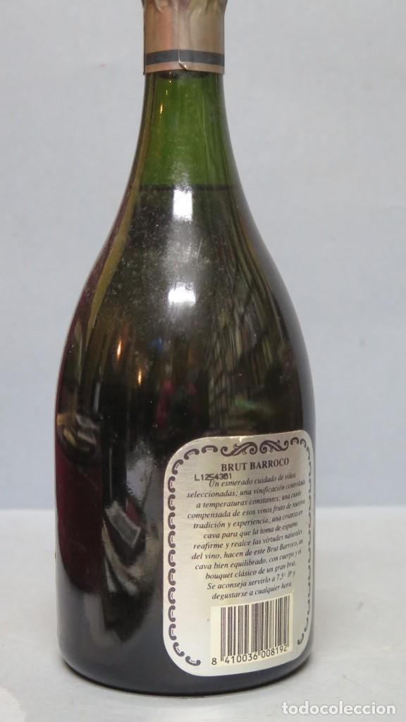 Coleccionismo de cava: BOTELLA CAVA. FREIXENET. BRUT BARROCO. VINTAGE 1989. SIN ABRIR - Foto 3 - 137270638