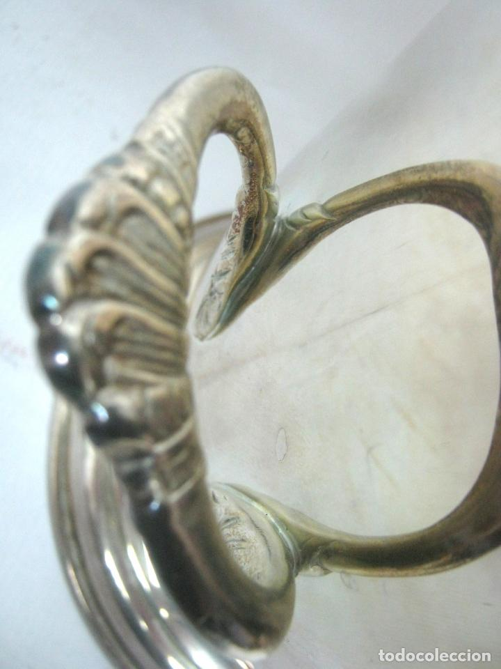 Coleccionismo de cava: Espectacular cubitera de lujo para botella Cava vino - baño de plata - Foto 3 - 139237898