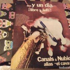 Collectionnisme de cava: ANTIGUO RECORTE REVISTA ANUNCIO CAVA CANALS & NUBIOLA TRASERA CAFIASPIRINA CONTRA EL MAREO. Lote 142610470