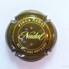 Coleccionismo de cava: CHAPA DE CAVA NADAL , PLACA DE CAVA. Lote 147117034