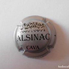Coleccionismo de cava: PLACA CAVA ALSINAC 8782 - 032321. Lote 147601522
