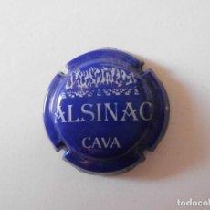 Coleccionismo de cava: PLACA CAVA ALSINAC 10193 - 034147. Lote 147601802