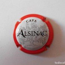 Coleccionismo de cava: PLACA CAVA ALSINAC 17049 - 054915. Lote 147602122