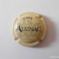 Coleccionismo de cava: PLACA CAVA ALSINAC 19589 - 069130. Lote 147602194