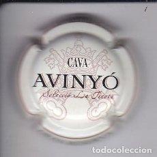 Coleccionismo de cava: PLACA DE CAVA AVINYO GRAN RESERVA COLOR MARFIL (MUY RARA) VIADER: 3300. Lote 147878498