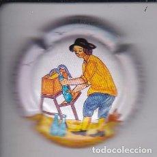 Coleccionismo de cava: PLACA DE CAVA AVINYO DE EL TIRATGE - VIADER:1974. Lote 147878982