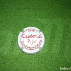 Coleccionismo de cava: PLACA CAVA CAPDEVILA PUJOL. Lote 150534002