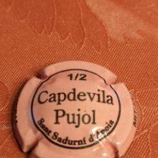 Coleccionismo de cava: 0259. PLACA DE CAVA. CAPDEVILA PUJOL. Lote 155180758