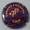 Coleccionismo de cava: CHAPA DE CAVA TORRES PRUNERA. Lote 160367738