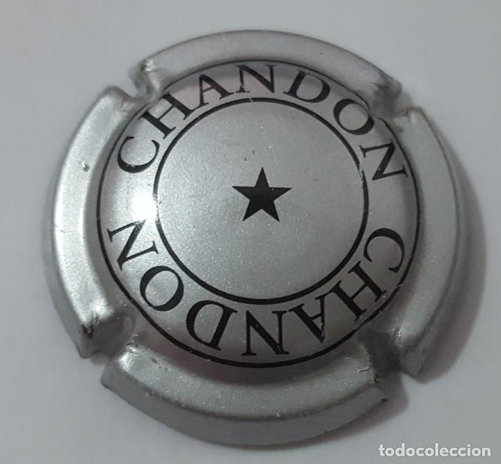 CHAPA DE CAVA (CHAMPAGNE) CHANDON (Coleccionismo - Botellas y Bebidas - Cava)