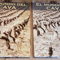 Coleccionismo de cava: EL MUNDO DEL CAVA / PLACAS DE COLECCIÓN / HASTA PAG. 445, EN DOS TOMOS / NUEVOS DE OCASIÓN. Lote 161926814