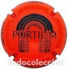 Coleccionismo de cava: PLACA DE CAVA - PORTIUM - Nº VIADER 12057ET (COLOR NARANJA). Lote 166343326
