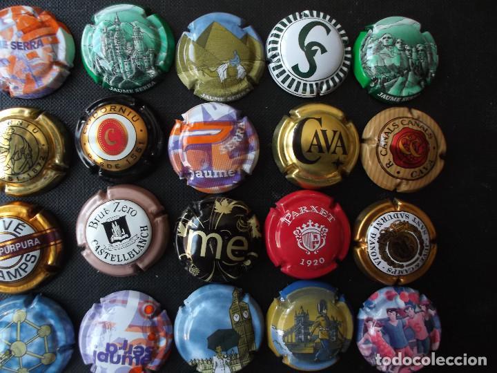 Coleccionismo de cava: conjunto de 49 chapas de cava diversas epocas y variedad de marcas ver fotos lote n 2 - Foto 3 - 167112172