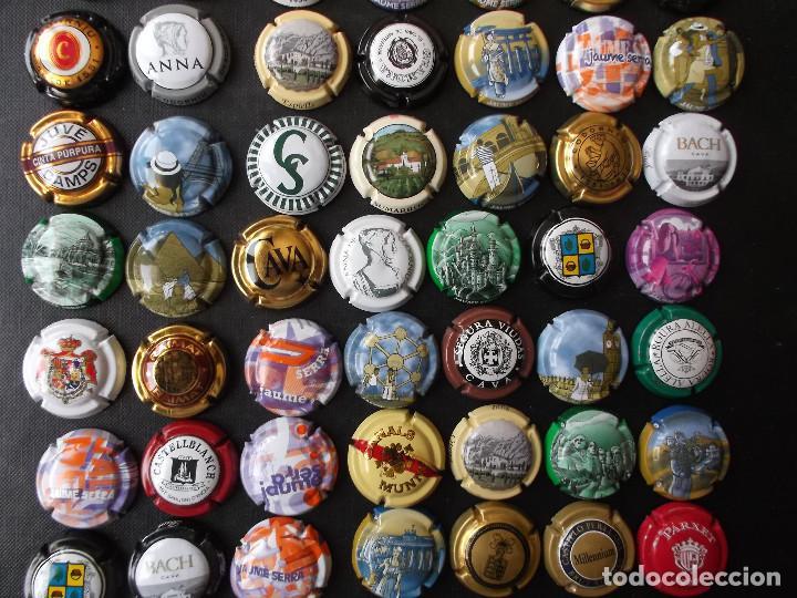 Coleccionismo de cava: conjunto de 49 chapas de cava diversas epocas y variedad de marcas ver fotos lote 3 - Foto 8 - 167112552
