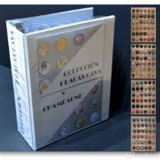 Coleccionismo de cava: LOTE 177 PLACAS DE CAVA DISTINTAS CON ALBUM Y 5 HOJAS. Lote 167182416