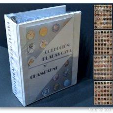 Coleccionismo de cava: LOTE 160 PLACAS DE CAVA DISTINTAS CON ALBUM Y 5 HOJAS. Lote 167182596