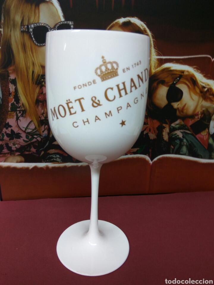 COPA CHAMPAGNE MOET CHANDON (Coleccionismo - Botellas y Bebidas - Cava)