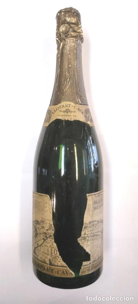 BOTELLA DE CAVA LLOPART (Coleccionismo - Botellas y Bebidas - Cava)