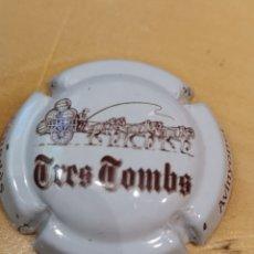 Coleccionismo de cava: 1129. PLACA DE CAVA. TRES TOMBS. 7998. Lote 170169213