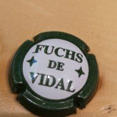 Coleccionismo de cava: 1133. PLACA DE CAVA. FUCHS DE VIDAL. 7603. Lote 170169877
