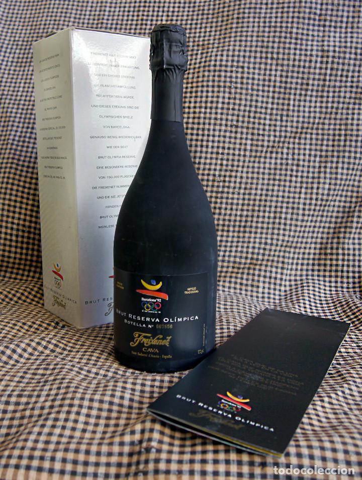 FREIXENET, BRUT RESERVA OLÍMPICA, 1986 (Coleccionismo - Botellas y Bebidas - Cava)