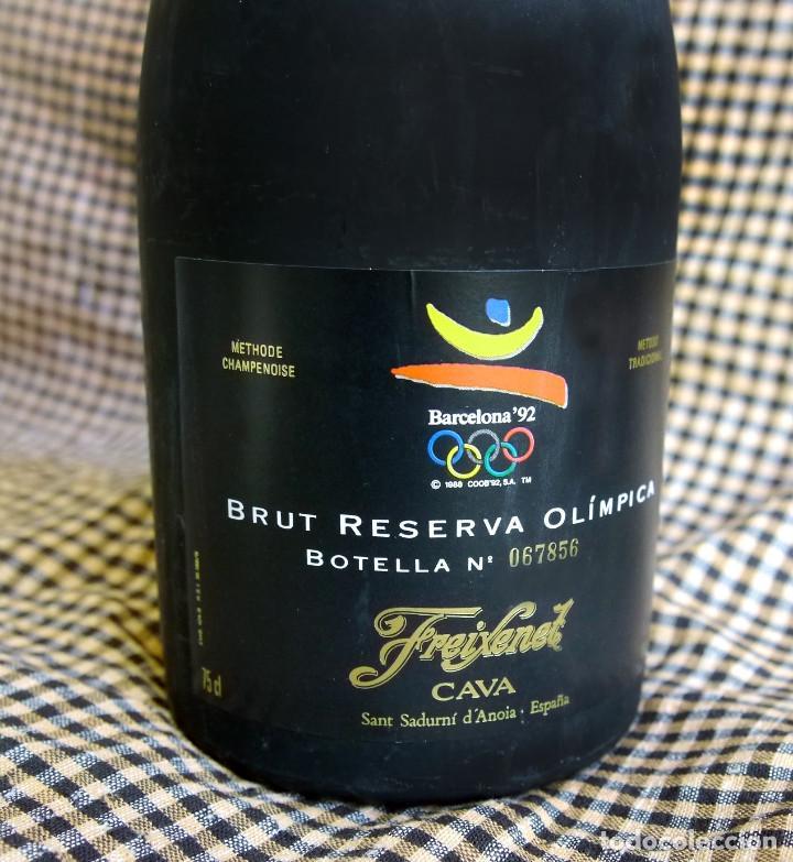 Coleccionismo de cava: Freixenet, Brut Reserva Olímpica, 1986 - Foto 4 - 171018387