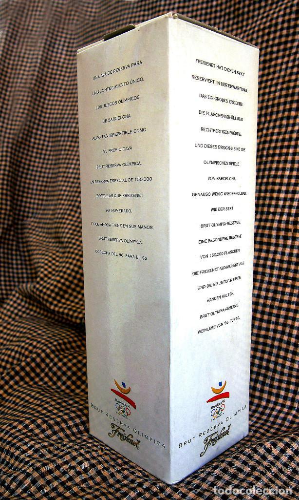 Coleccionismo de cava: Freixenet, Brut Reserva Olímpica, 1986 - Foto 7 - 171018387