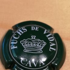 Coleccionismo de cava: B1. PLACA DE CAVA. FUCHS DE VIDAL. 455. Lote 171732024