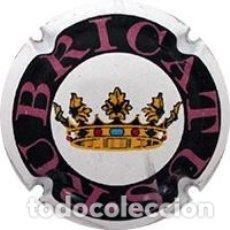 Coleccionismo de cava: CHAPA / PLACA DE CAVA RUBRICATUS NEGRO/ROSA. Lote 172281942