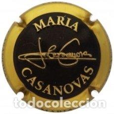 Coleccionismo de cava: PLACA DE CAVA - MARIA CASANOVAS - Nº 157474 BRILLANTE. Lote 173004785