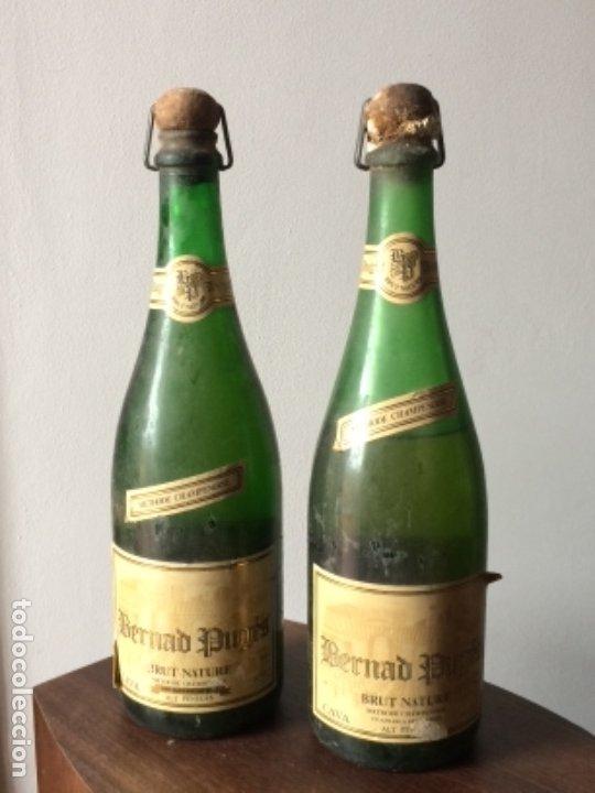 BERNARD PUGÉS BRUT NATURE CAVA, METHODE CHAMPENOISE, VILAFRANCA DEL PENEDÉS (Coleccionismo - Botellas y Bebidas - Cava)