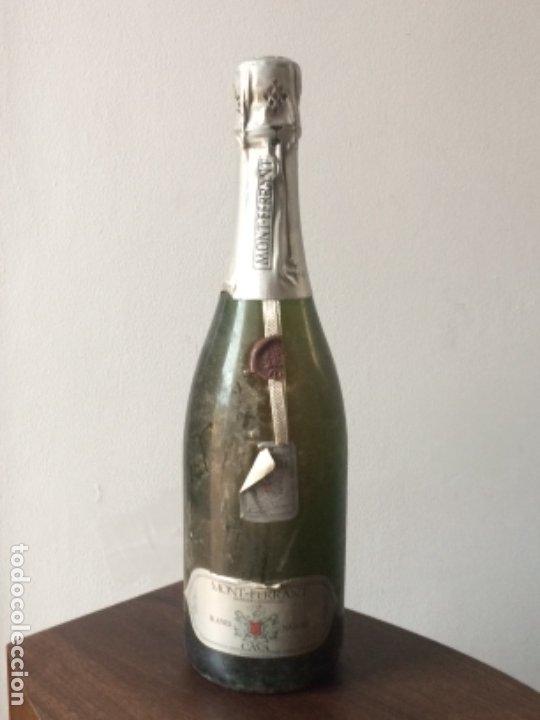 BOTELLA CAVA MONTFERRANT, BLANES, VINTAGE SERIE LIMITADA (Coleccionismo - Botellas y Bebidas - Cava)
